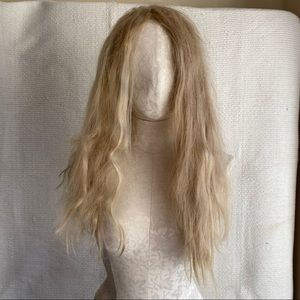 Long Blonde Wig Halloween Costume Hair Accessory